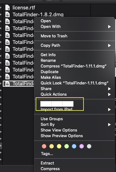 TotalFinder Support In macOS 10 14 Mojave - TotalFinder